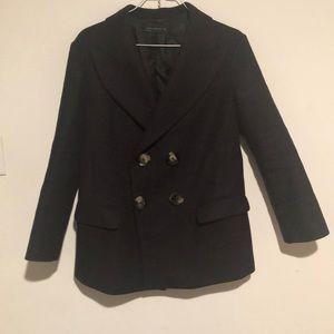 Zara Blazer coat navy blue